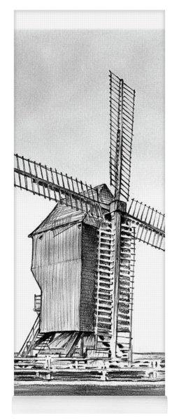 Windmill At Valmy Yoga Mat