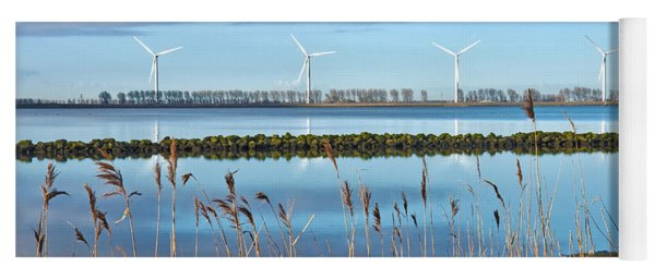 Windmills On A Windless Morning Yoga Mat