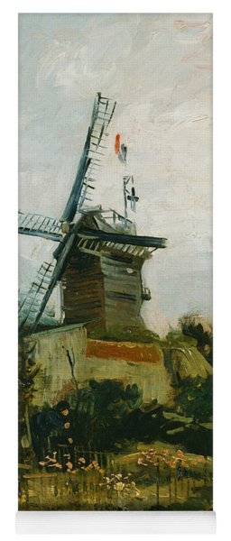 Windmills On Montmartre Yoga Mat
