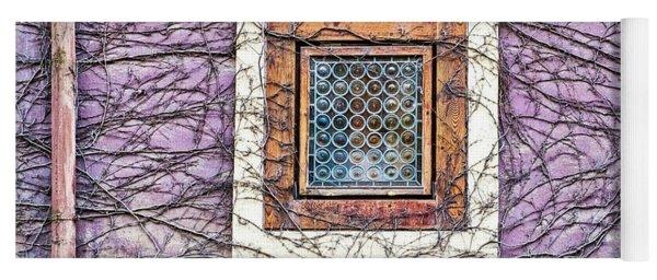 Window And Vines - Prague Yoga Mat