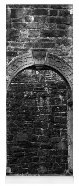 Window At Donegal Castle Ireland Yoga Mat