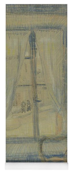 Window In The Bataille Restaurant Paris, February - March 1887 Vincent Van Gogh 1853 - 1890 Yoga Mat