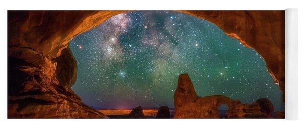 Window To The Heavens Yoga Mat