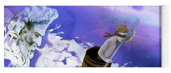 Winds Of Fate  Yoga Mat