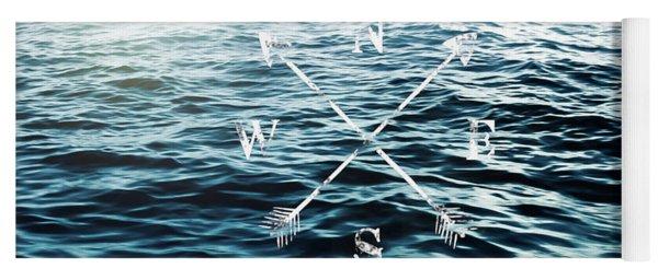 Winds Of The Sea Yoga Mat