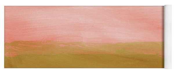 Windswept Sunset- Abstract Art By Linda Woods Yoga Mat