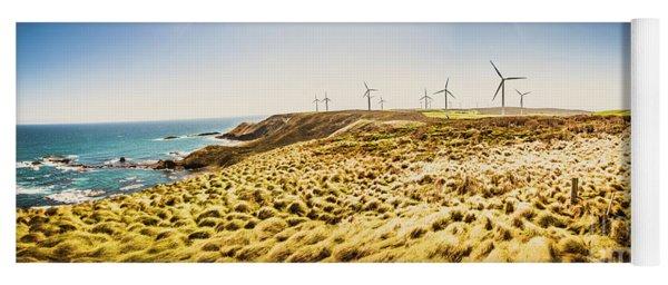 Windswept Tasmania Yoga Mat