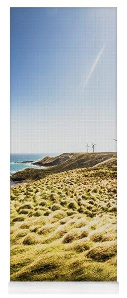 Windy Meadows Yoga Mat