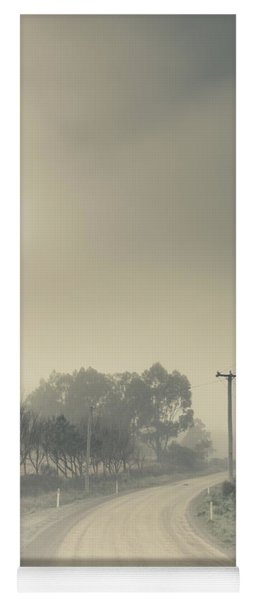 Windy Paths To Destinations Unknown Yoga Mat