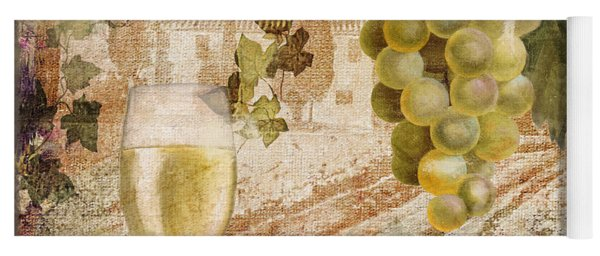 Wine Country Alsace Yoga Mat