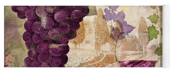 Wine Country Medoc Yoga Mat