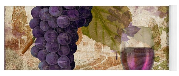 Wine Country Provence Yoga Mat