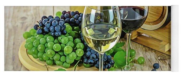 Wine Tasting Yoga Mat