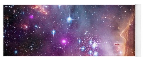 Wing Of The Small Magellanic Cloud Yoga Mat