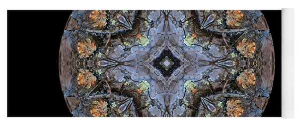 Winged Creatures In A Star Kaleidoscope #1 Yoga Mat