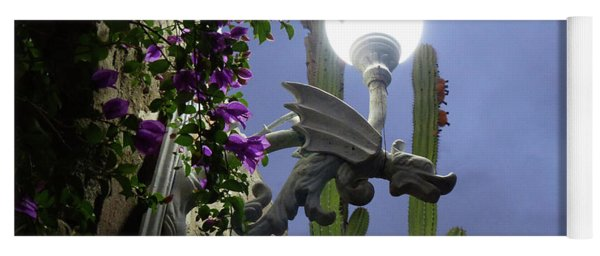 Winged Gargoyle In El Fuerte Yoga Mat