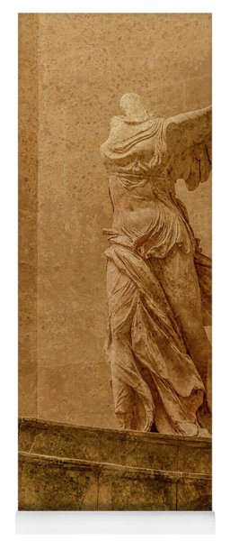 Paris, France - Louvre - Winged Victory Yoga Mat