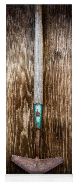 Tools On Wood 5 Yoga Mat