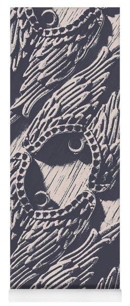 Wings Of Classical Artform Yoga Mat