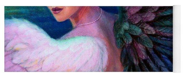 Wings Of Duality Yoga Mat