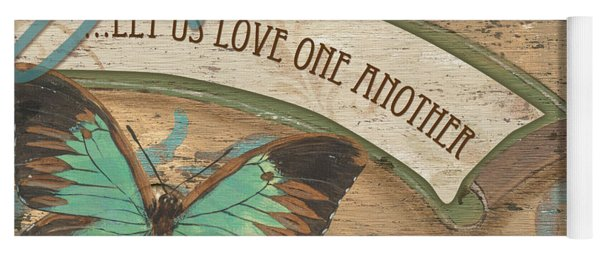Wings Of Love Yoga Mat