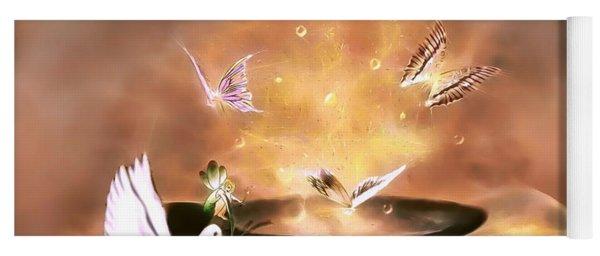 Wings Of Magic Yoga Mat