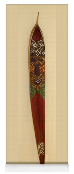 Yoga Mat featuring the painting Winky The Palm Frond by Deborah Boyd