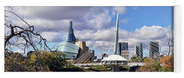 Winnipeg Landmarks Yoga Mat