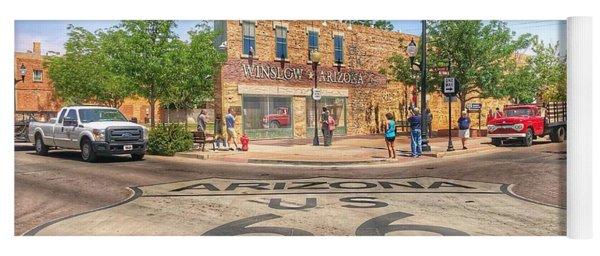Winslow Arizona Yoga Mat