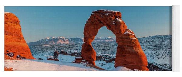 Winter Arch Yoga Mat
