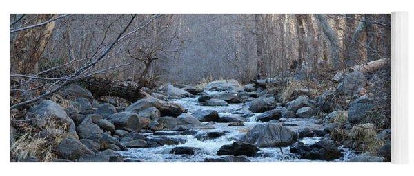 Winter Creek  Yoga Mat
