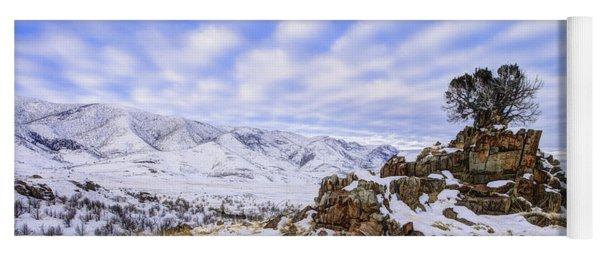 Winter Desert Yoga Mat