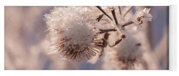 Winter Frost Yoga Mat