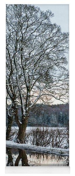 Winter In England, Uk Yoga Mat