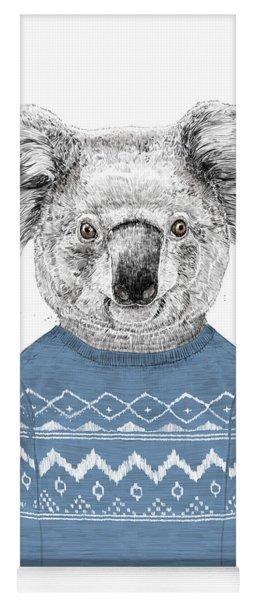 Winter Koala Yoga Mat