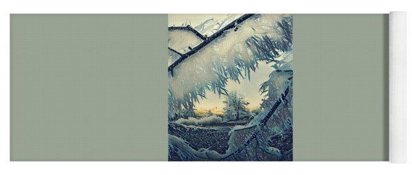 Yoga Mat featuring the photograph Winter Magic by Colette V Hera Guggenheim
