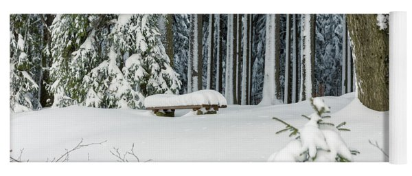 Winter Moments In Harz Mountains Yoga Mat
