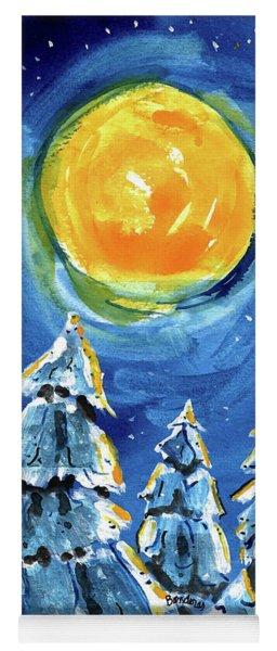 Winter Moon Yoga Mat