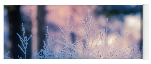 Winter Morning Light Yoga Mat