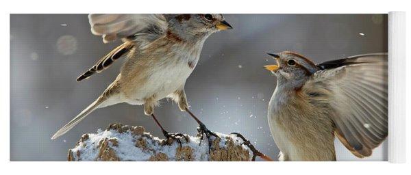 Winter Quarrel Yoga Mat
