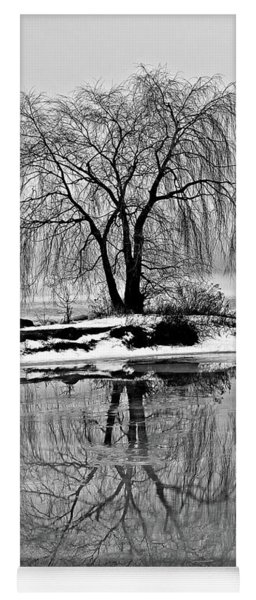 Winter Reflections Yoga Mat