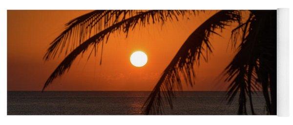 Winter Solstice Sunrise 2 Delray Beach, Florida Yoga Mat