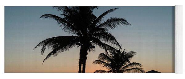 Winter Solstice Sunrise Delray Beach Florida Yoga Mat
