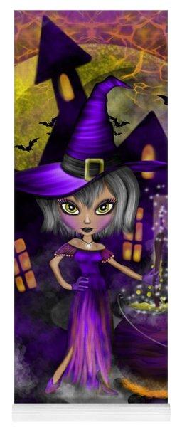 Wisdom Witch Fantasy Art Yoga Mat