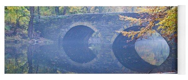 Wissahickon Creek At Bells Mill Rd. Yoga Mat