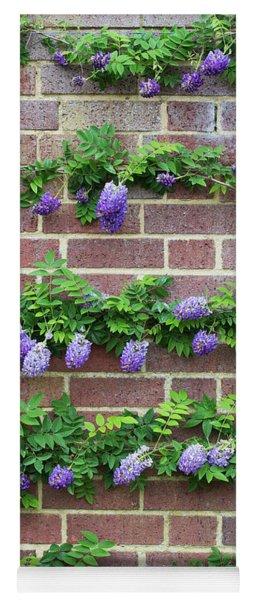 Wisteria Frutescens Longwood Purple Yoga Mat