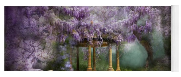 Wisteria Lake Yoga Mat