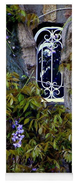 Wisteria Window Yoga Mat