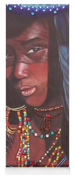 Virtuous Wodaabe Girl          From The Attitude Girls  Yoga Mat