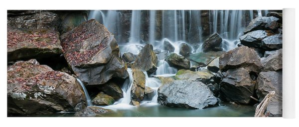 Wolf Creek Falls Yoga Mat